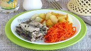 Фото рецепта Килька тушёная по-эстонски