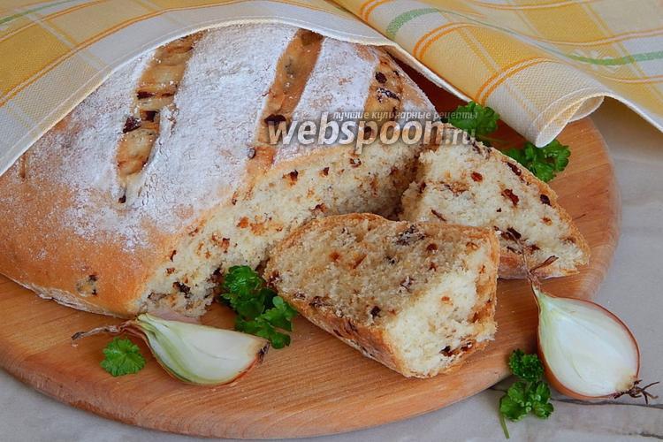 Фото Луковый хлеб