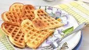 Фото рецепта Творожные вафли