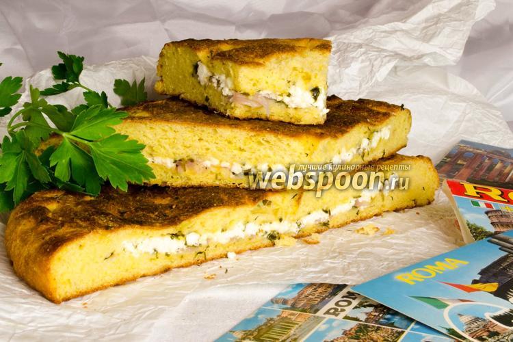 Фото Фокачча с сыром