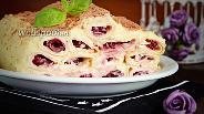 Фото рецепта Блинный торт с заварным кремом