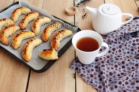 Фото рецепта Пирожки бездрожжевые с картошкой