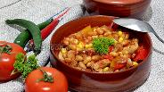 Фото рецепта Свинина с фасолью по-мексикански
