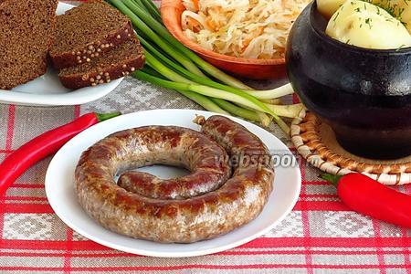 Колбаса крестьянская домашняя