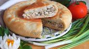 Фото рецепта Рыбный пирог в мультиварке