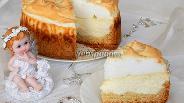 Фото рецепта Творожный торт «Слёзы ангела»