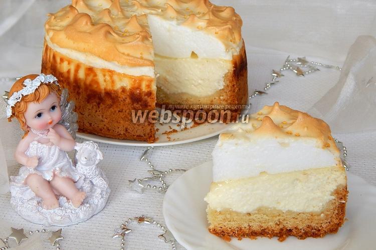 Фото Творожный торт «Слёзы ангела»