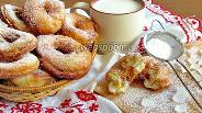 Фото рецепта Пончики на кефире