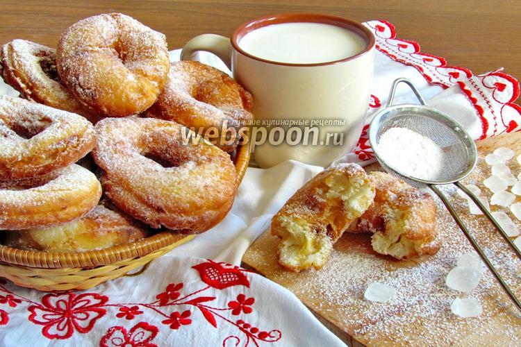 Фото Пончики на кефире