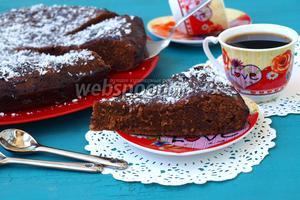Пирог «Шоколадное удовольствие» видео рецепт