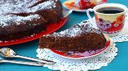 Фото рецепта Пирог «Шоколадное удовольствие»