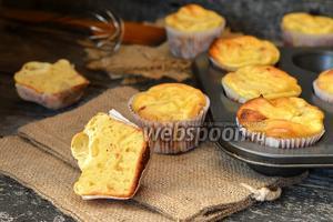 Фото рецепта Дважды творожные кексы
