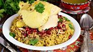 Фото рецепта Фрике с мясным фаршем и курицей