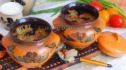 Фото рецепта Бабка по-белорусски со свининой и грибами