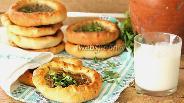 Фото рецепта Хлебная лепёшка с мясом