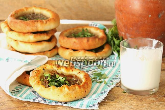 Фото Хлебная лепёшка с мясом