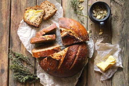 Цельнозерновой хлеб на натуральной закваске