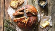 Фото рецепта Цельнозерновой хлеб на натуральной закваске