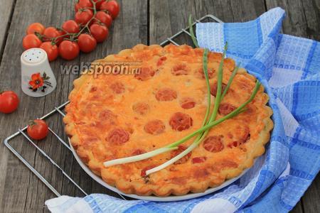 Пирог открытый с мясом