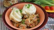 Фото рецепта «Штрудели» с тушёной капустой