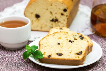 Фото рецепта Молочный овсяный кекс