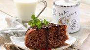 Фото рецепта Пирог «Шоколад в молоке» в мультиварке