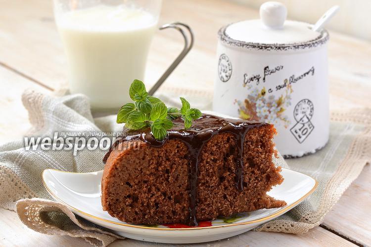 Фото Пирог «Шоколад в молоке» в мультиварке