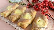 Фото рецепта Булочки-кармашки с творогом