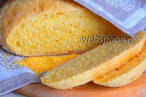 Пшенично-кукурузный хлеб