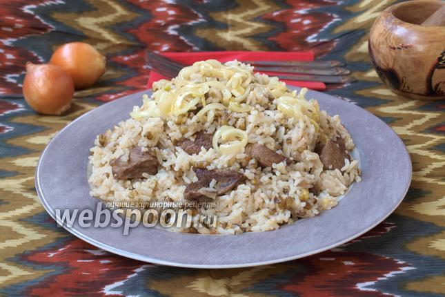 Фото Рисовая каша с машем и телятиной