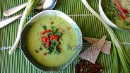 Фото рецепта Холодный суп из авокадо