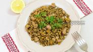 Фото рецепта Чечевица с куриной грудкой и овощами