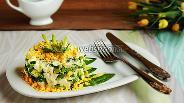 Фото рецепта Салат из черемши с нежным соусом