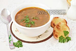 Суп из маша и фаршем