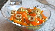 Фото рецепта Салат из томатов и сладкого перца
