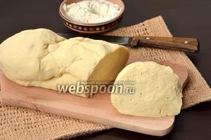 Тесто для вареников на сыворотке