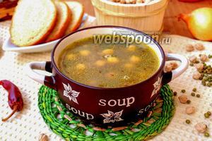 Суп из нута, маша и чечевицы