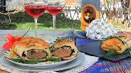 Фото рецепта Баранина в тесте с розмарином