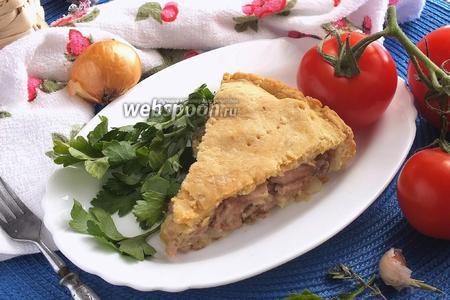 Пирог с цыплёнком