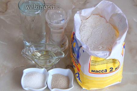 Багет в домашних условиях - рецепт пошаговый с фото