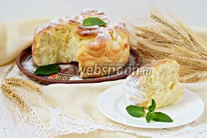 Славянский праздничный пирог