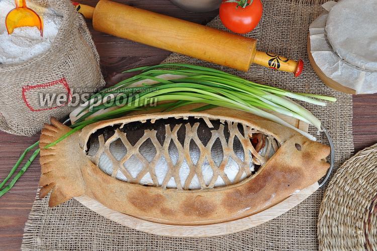 Фото Лосось в ржаной корочке по-камчатски