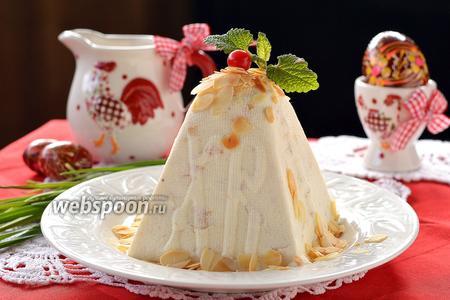 Медово-миндальная пасха с маскарпоне