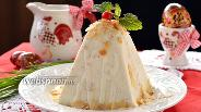 Фото рецепта Медово-миндальная пасха с маскарпоне