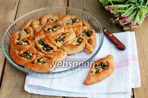 Пирог «Лодочки»