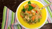 Фото рецепта Пшеничная каша с овощами
