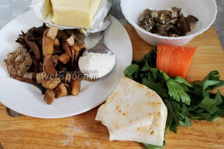 Похлебка грибная – кулинарный рецепт