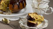 Фото рецепта Апельсиновый кекс с шоколадом