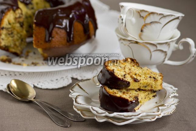 Фото Апельсиновый кекс с шоколадом