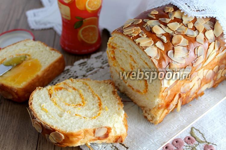 Фото Тостовый хлеб с миндальными лепестками